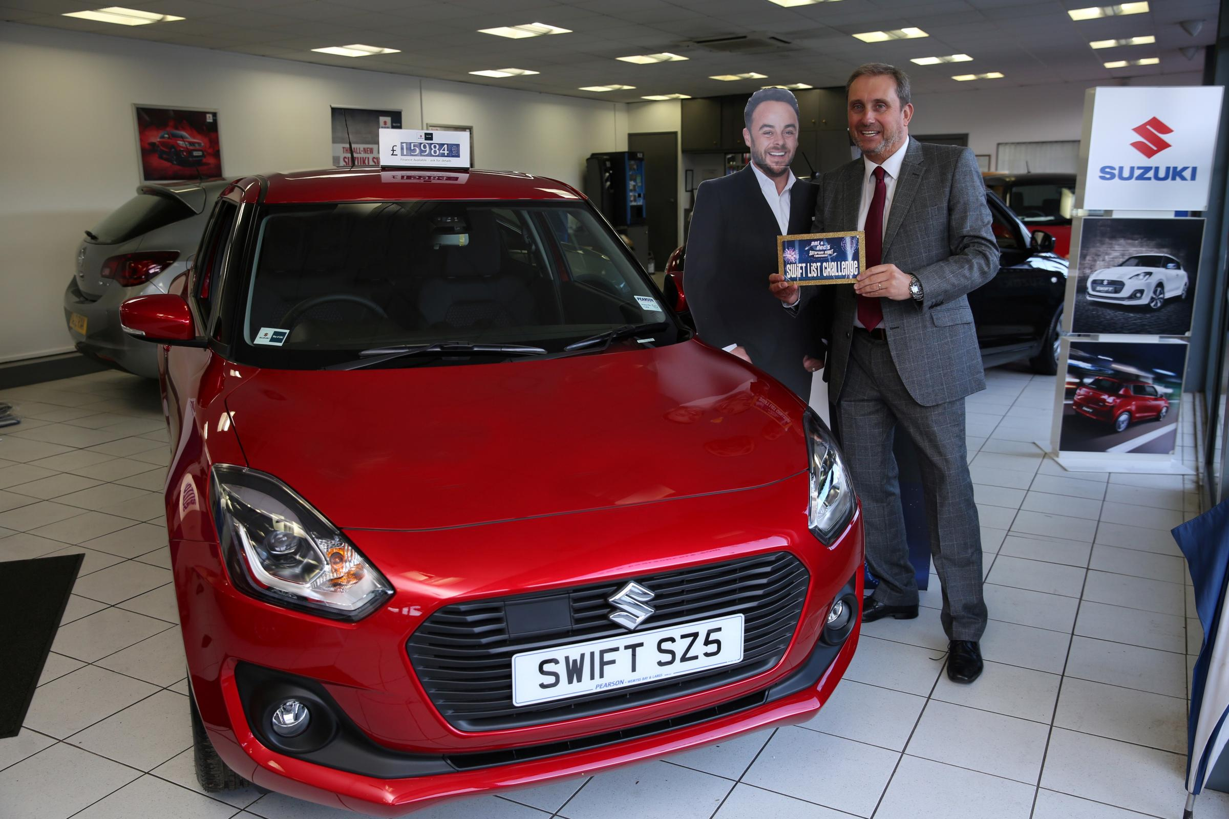 Wemyss Bay car salesman aims for the stars