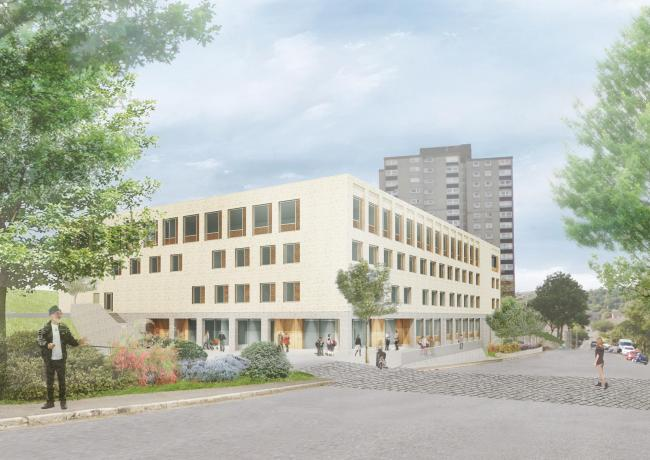 The new health centre will be built where Wellington Academy once stood.