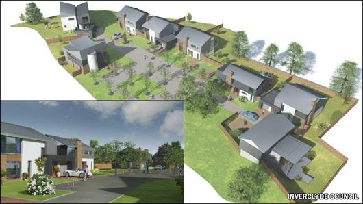Kilmacolm housing project 'fails to attract buyers'