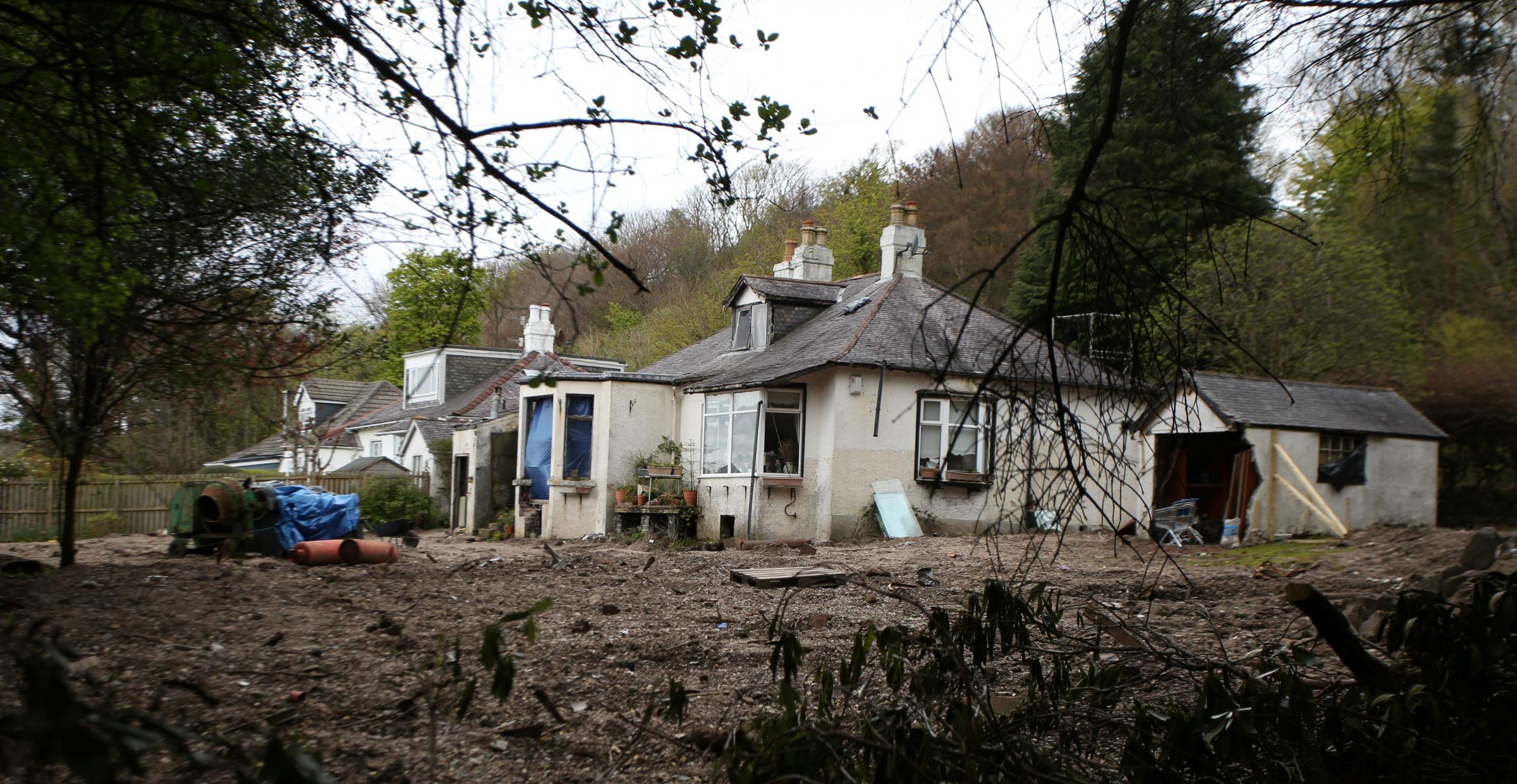 Bid to bulldoze missing Margaret Fleming's Inverkip home