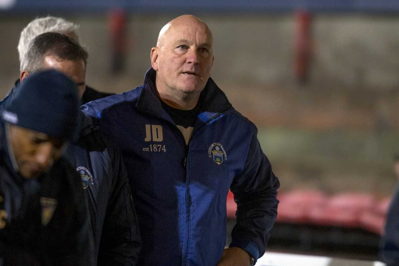 Jim Duffy says Morton have to earn right to beat Brechin