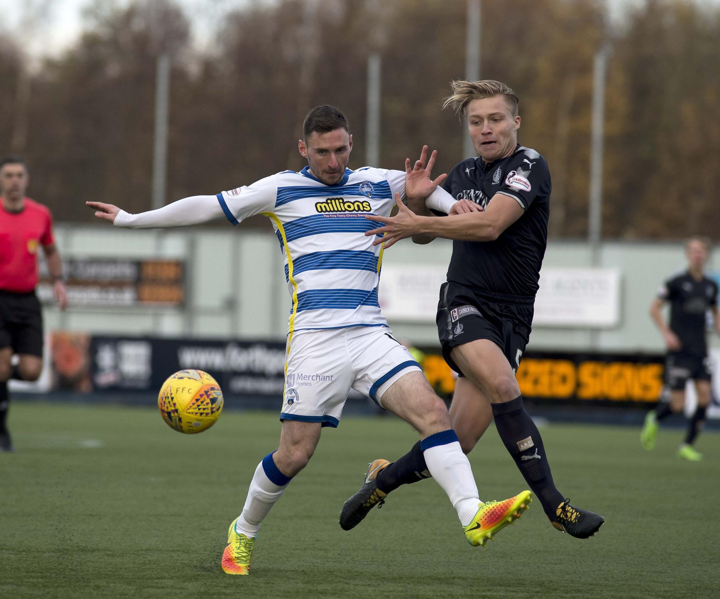 Morton striker McHugh believes Brechin could shut up shop