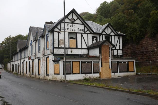 Plans to build new Co-op supermarket on former Wemyss Bay Hotel site