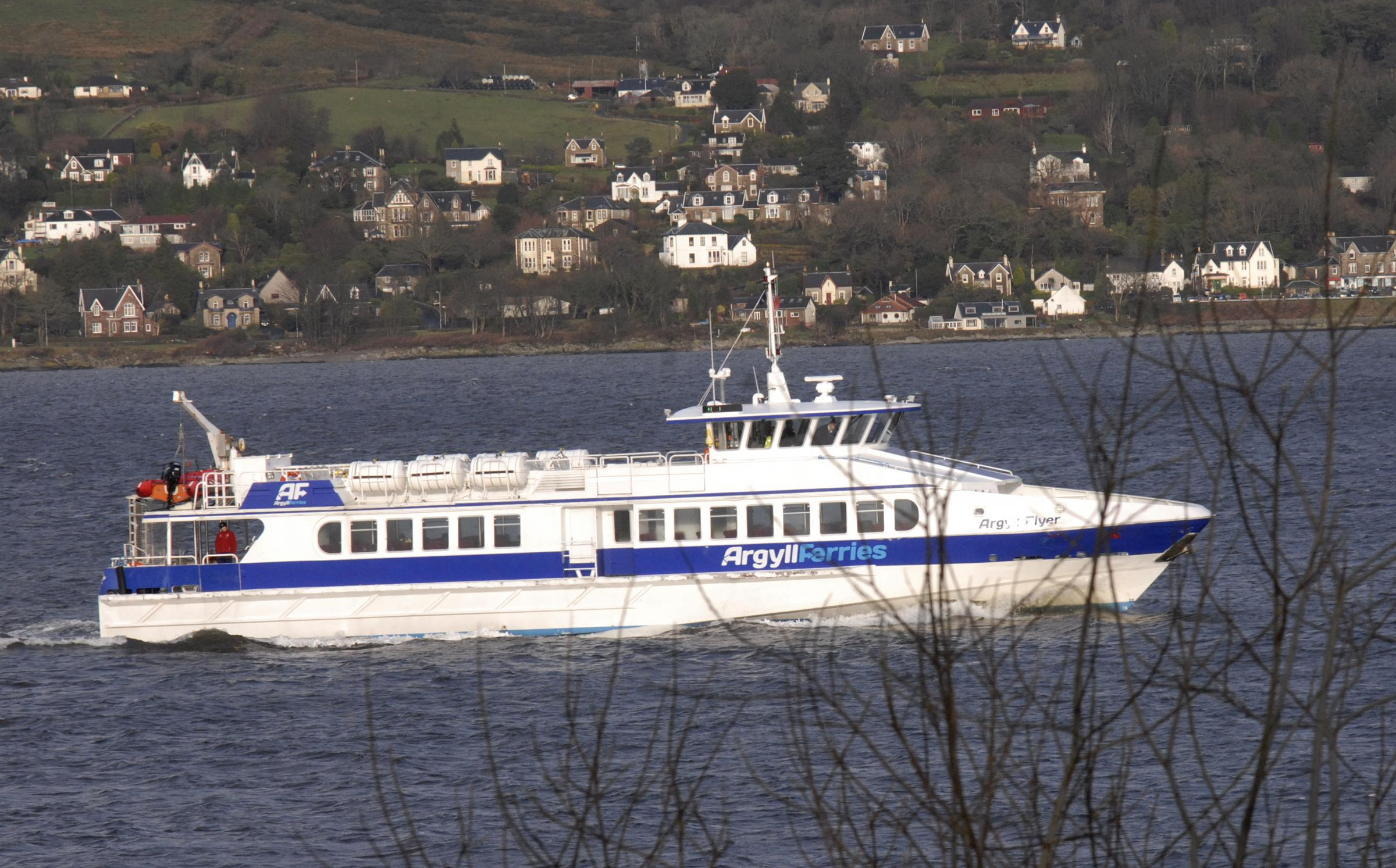 'Lifeline Gourock ferry service' contract still in limbo