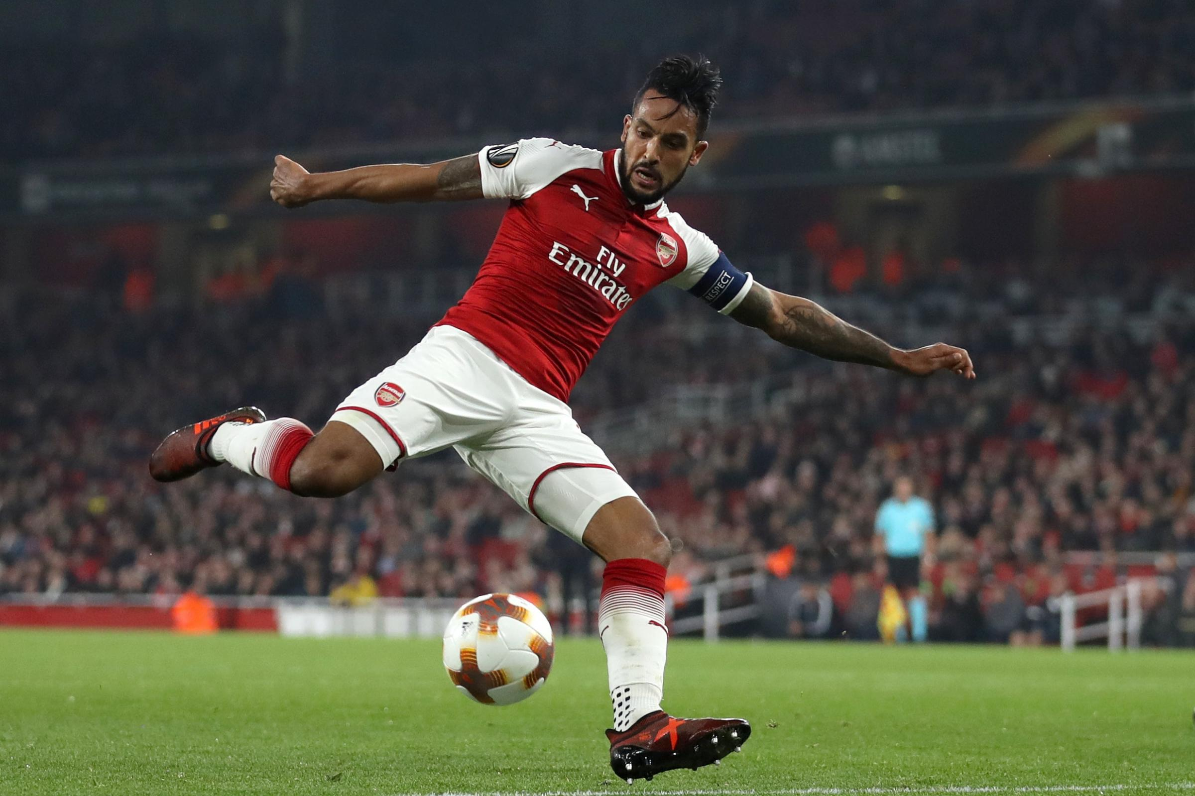 Everton are in talks with Arsenal to sign forward Theo Walcott (John Walton/PA)