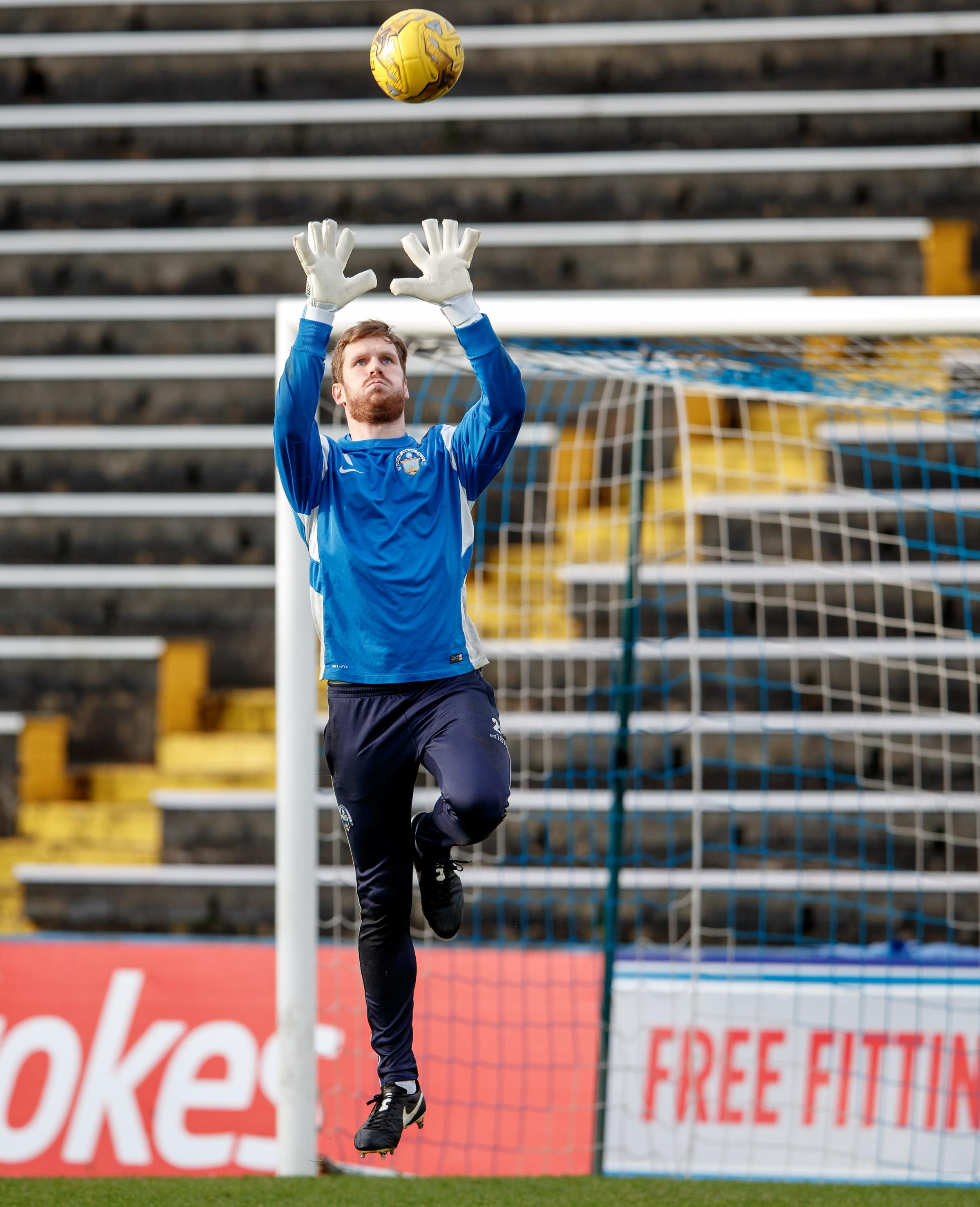 Gaston welcomes competition from new Morton keeper Brennan