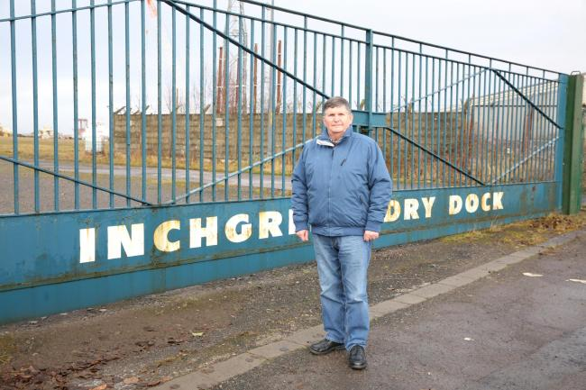 Ex-yard worker takes bid to save Inchgreen Drydock to officials
