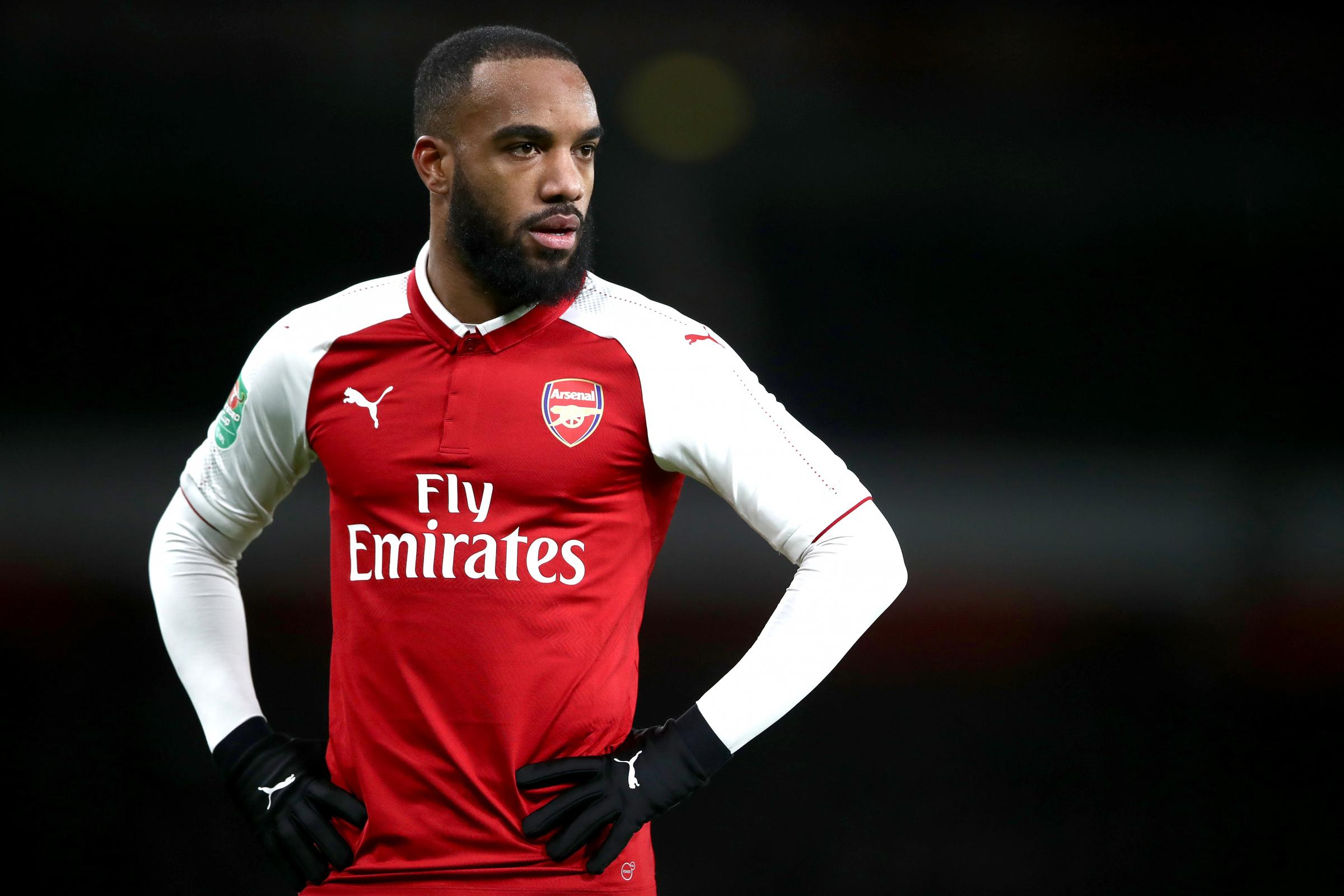Alexandre Lacazette will miss some key games for Arsenal (John Walton/PA)