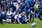 Scotland's David Denton returned to international action against France earlier this month (Andrew Milligan/PA)
