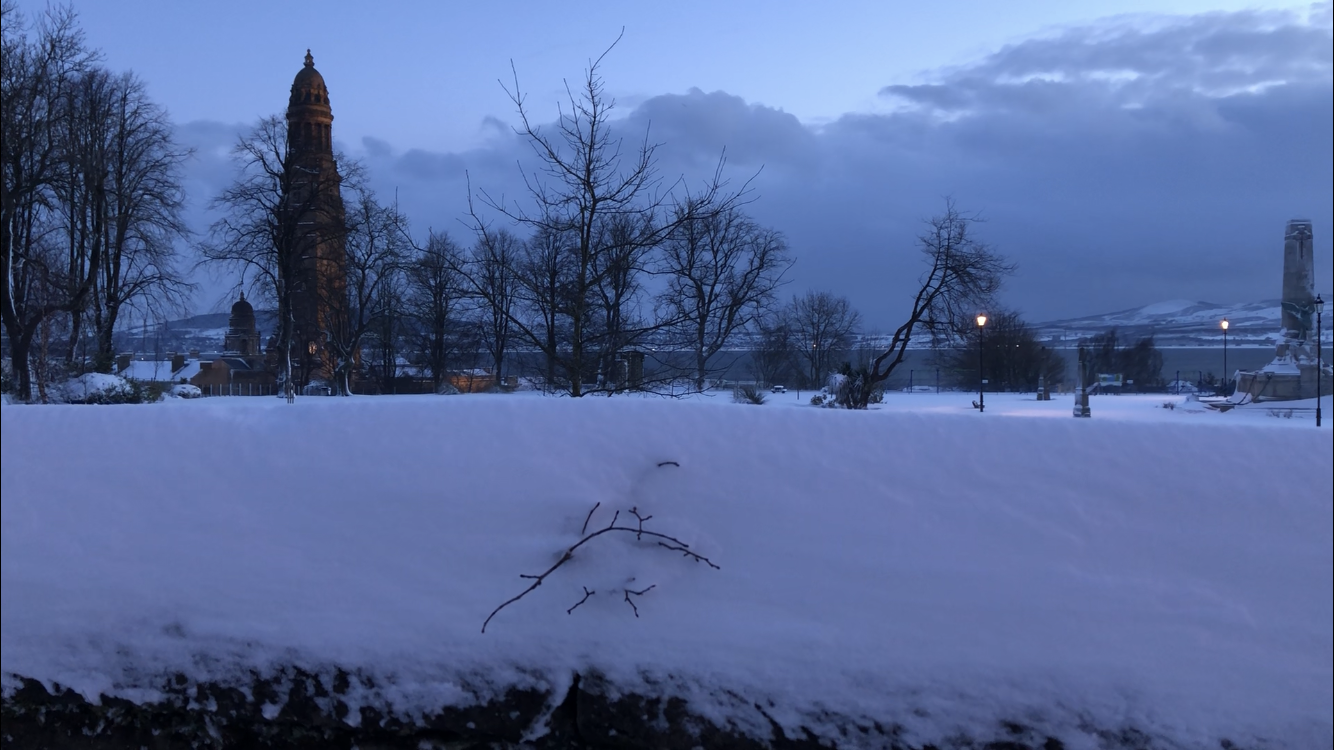 Snow has brought Inverclyde to a standstill thanks to the 'beast from the east'. Photo: Paul John Coulter.