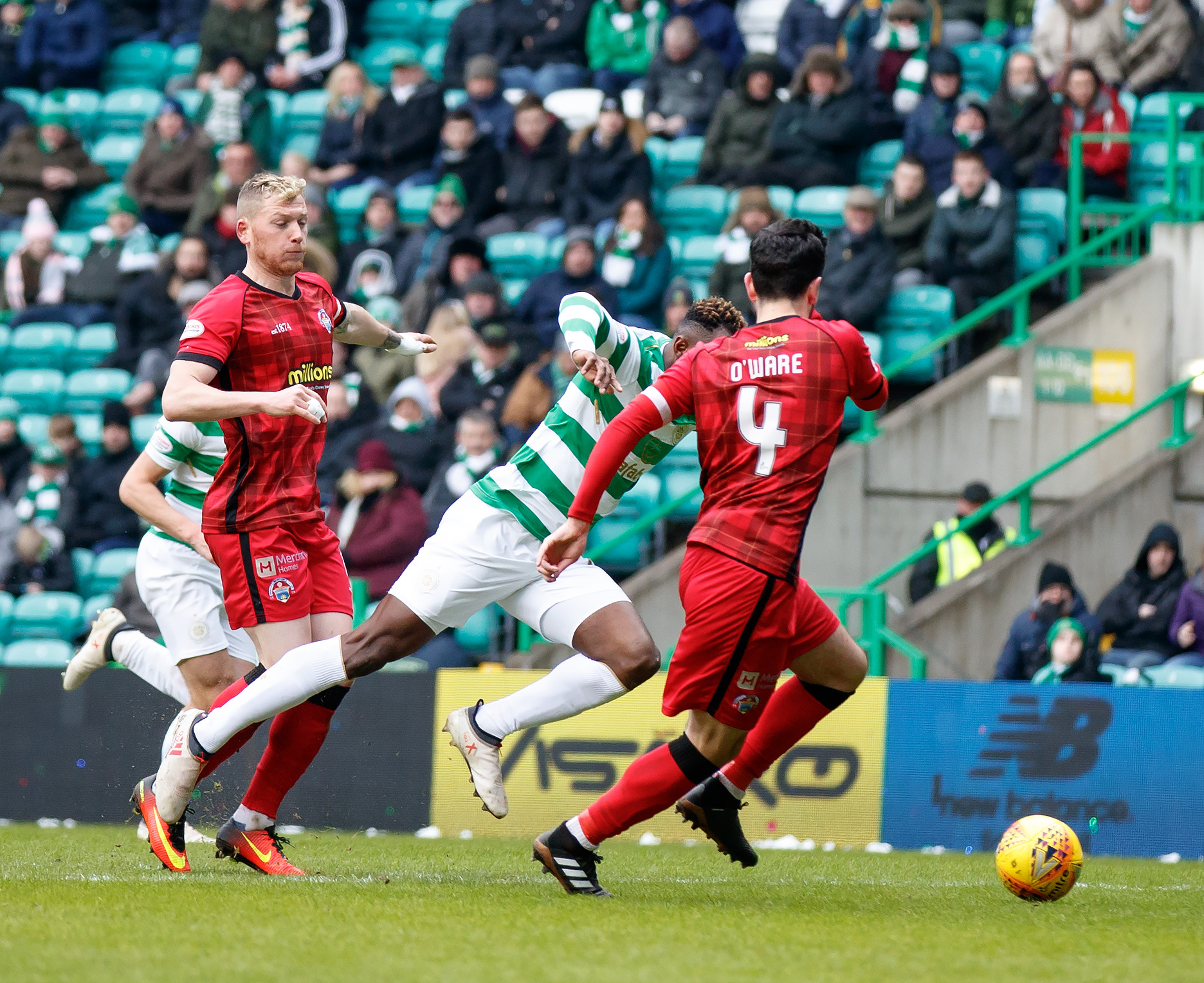 Morton defender dismayed at penalty decision