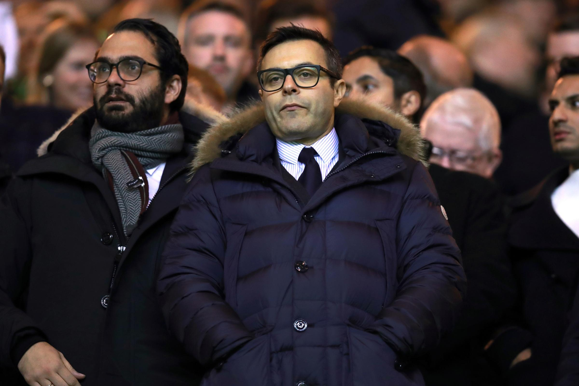Leeds owner Andrea Radrizzani has given the club's players a warning (Mike Egerton/PA)