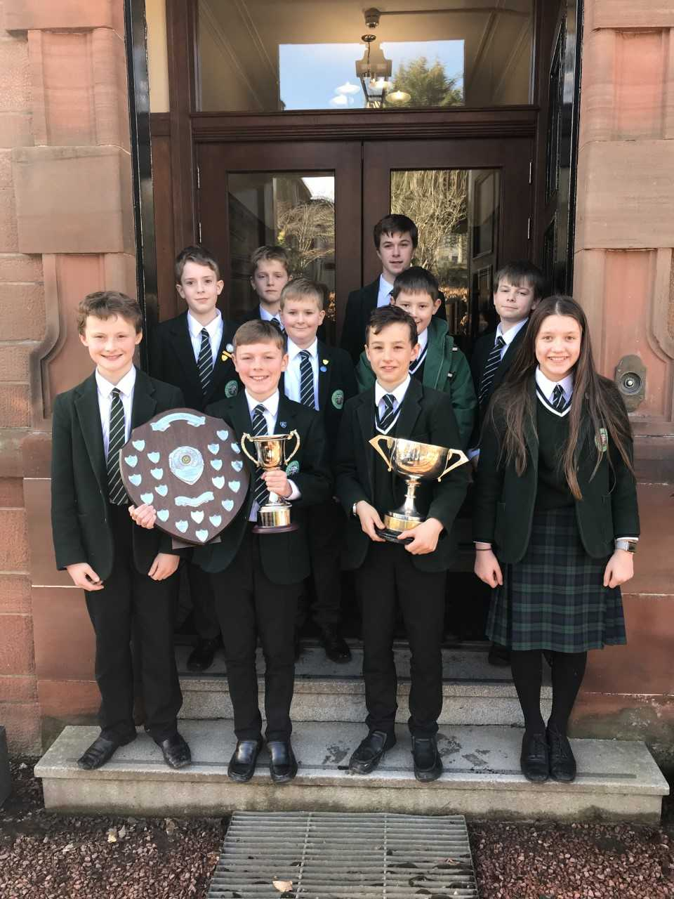 Inverclyde school's pipe band's triumph