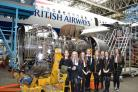 Inverclyde pupils 'flying start' at airport engineering base