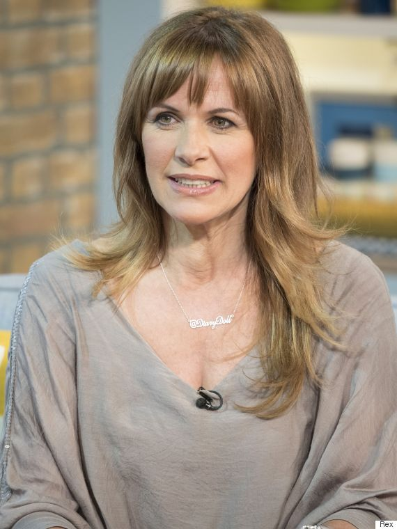 EDITORIAL USE ONLY. NO MERCHANDISINGMandatory Credit: Photo by Ken McKay/ITV/REX Shutterstock (4881129bl)Carol Smillie'This Morning' TV Programme, London, Britain. - 25 Jun 2015INCONTINENCE - Carol Smillie on why incontinence is nothing to be worr