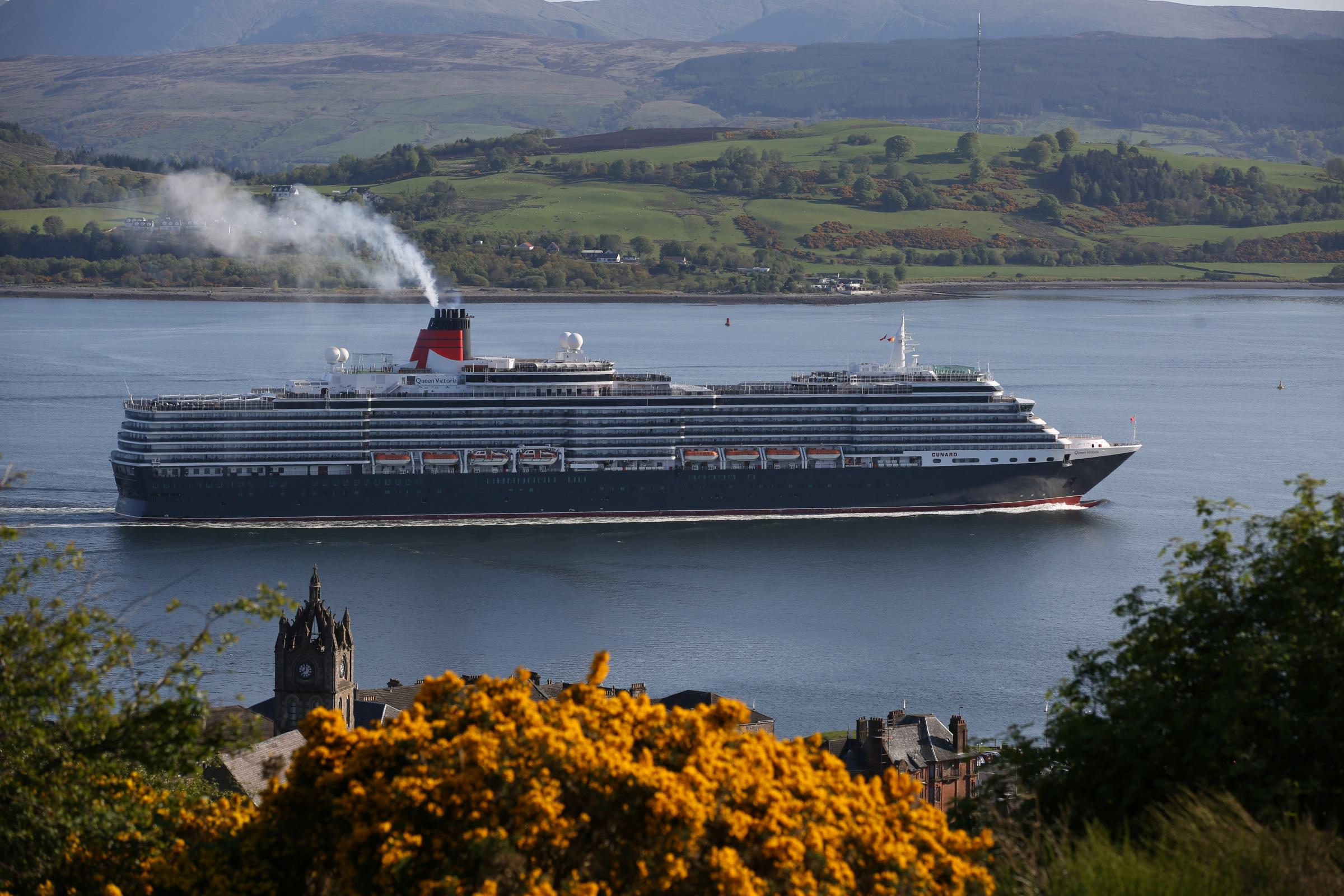 """VISITING cruise ships are always a cause for celebration for local photographers but one cruise company in particular seems to grab most attention. There is something special in seeing the unmistakeable red and black funnels of the Cunard ships as t"