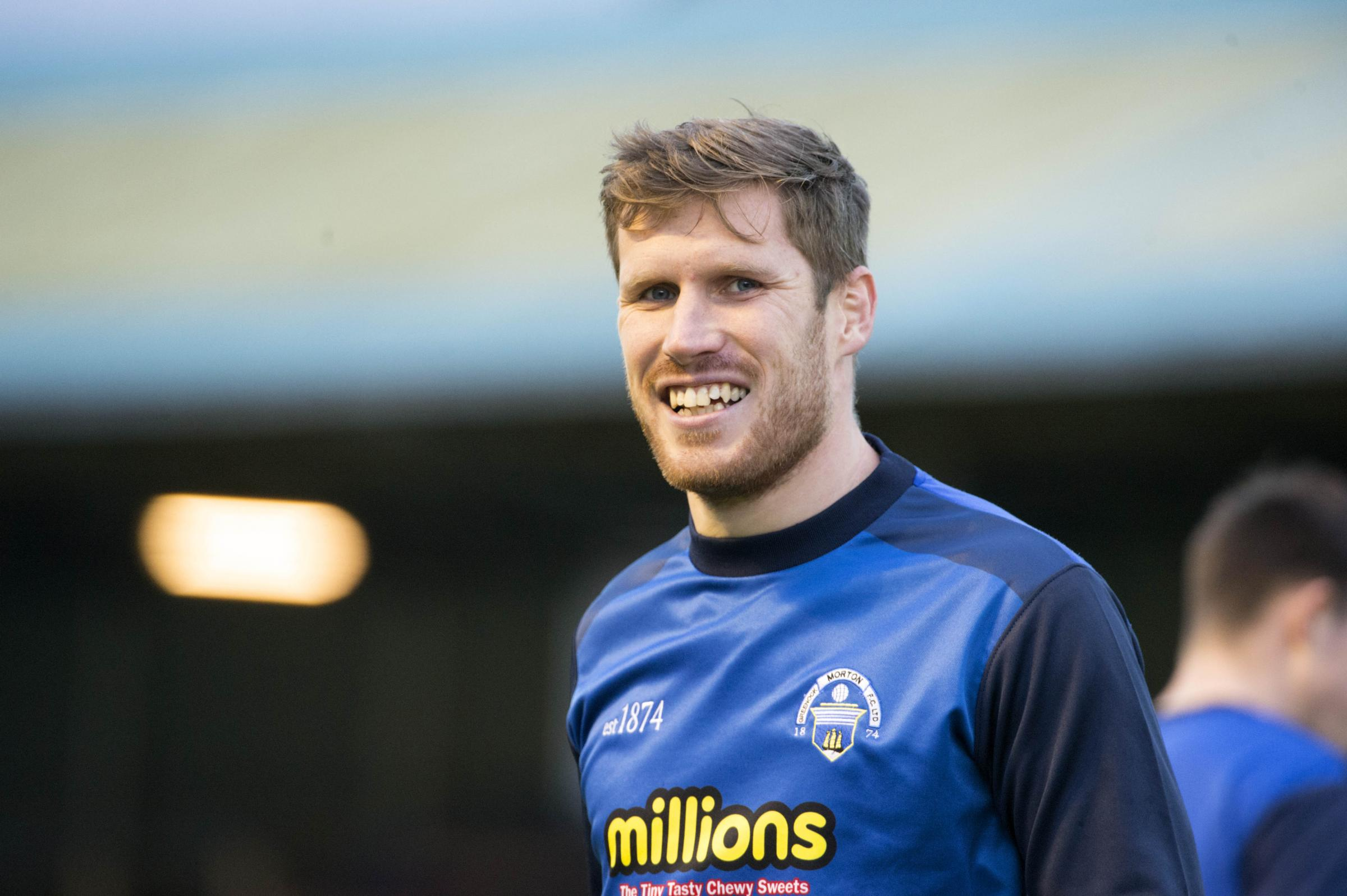 Morton keeper's tribute to solid defence