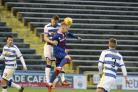 Bell in action against Morton last season.