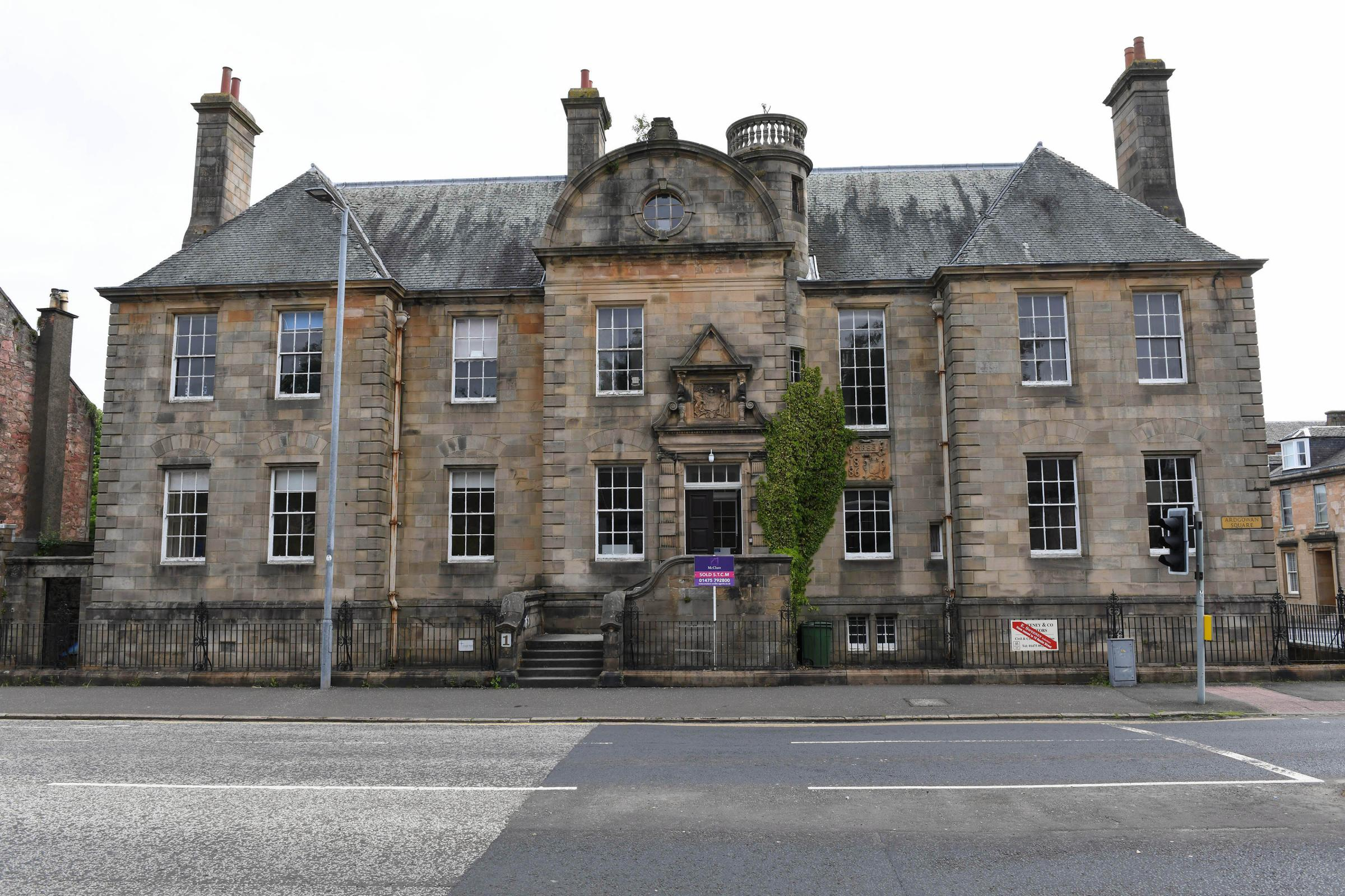 iconic 132 year old mansion house is to be turned into luxury flats rh greenocktelegraph co uk old mansion house rothesay old mansion house penrith