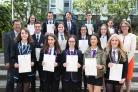 Inverclyde pupils celebrate exam success..