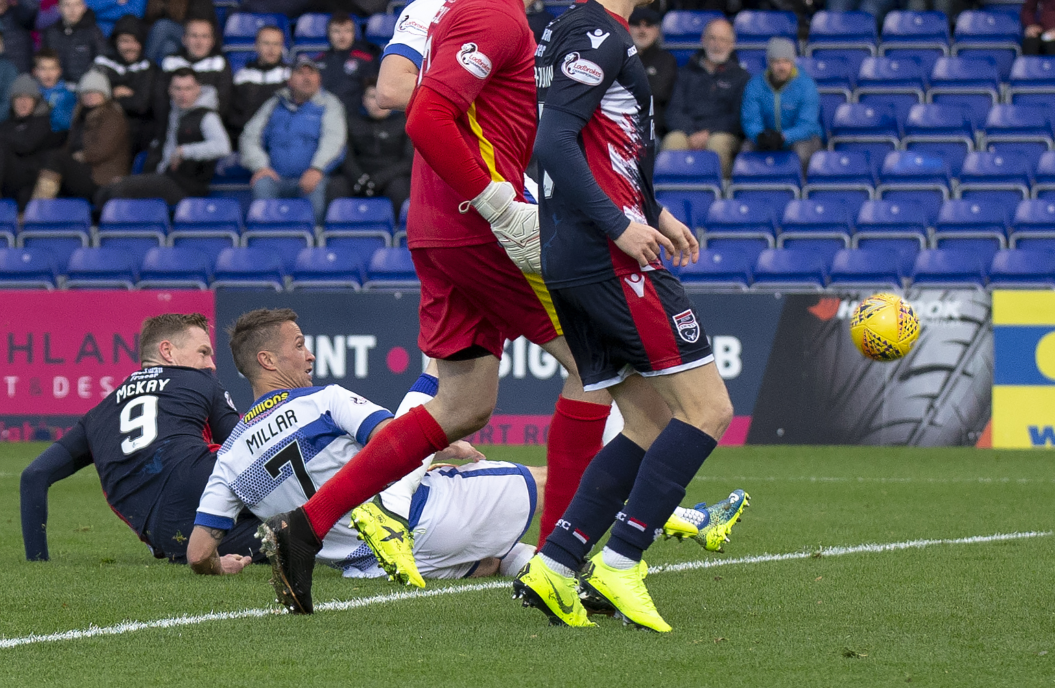 Millar says Morton players need positive reaction to Ross County defeat