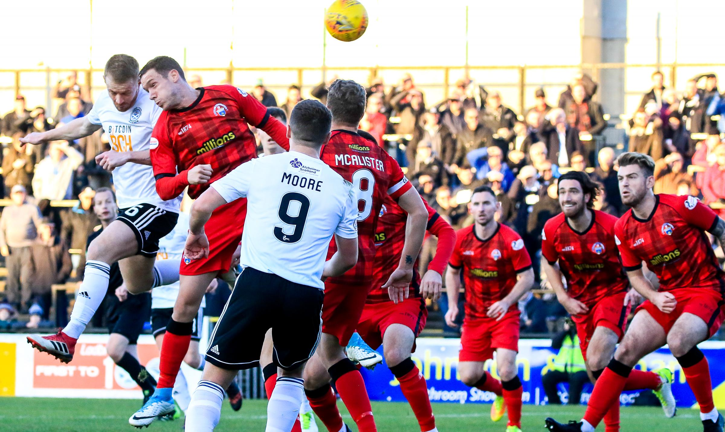 Johansson draws inspiration from Morton's draw against Ayr