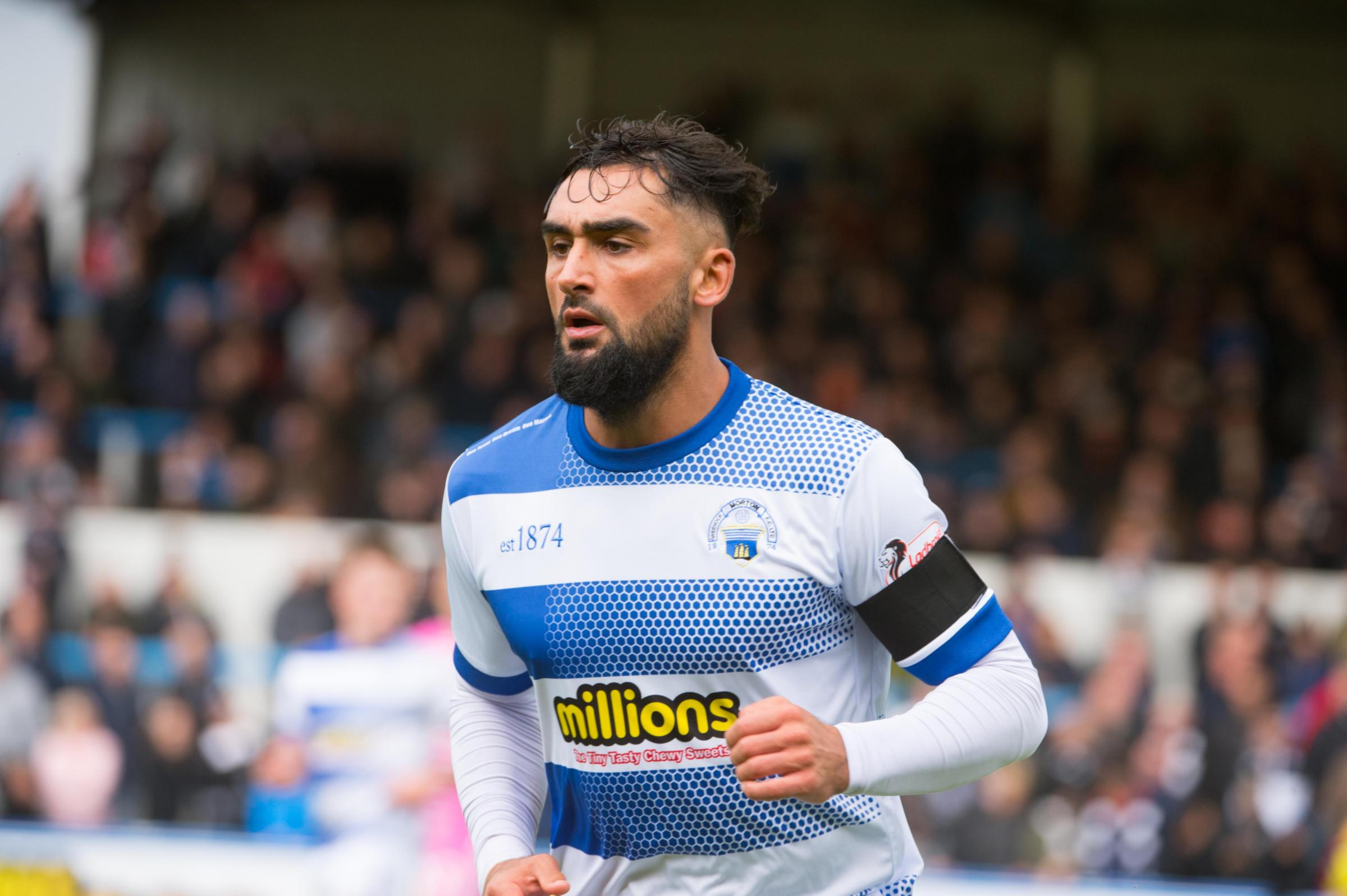 Morton defender back up and running after 'freak' injury