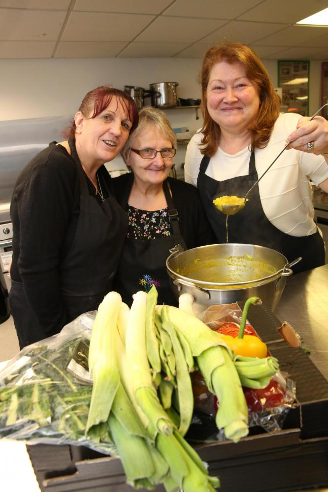 Community kitchen is using fresh ingredients to bring friendship and