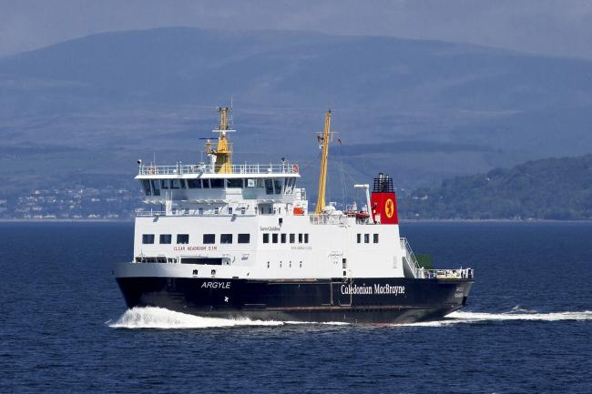 The Wemyss Bay ferry crossing could be affected this afternoon, passengers have been warned.