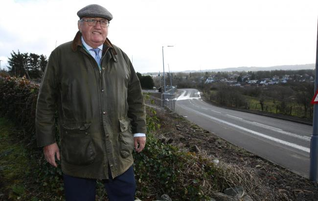Councillor David Wilson comments on speeding on Port Glasgow Road, Kilmacolm.