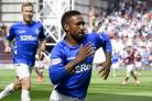 Jermain Defoe opened the scoring for Rangers
