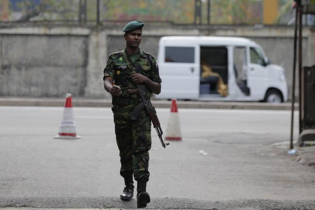 Sri Lankan military handed special powers after deadly bombings