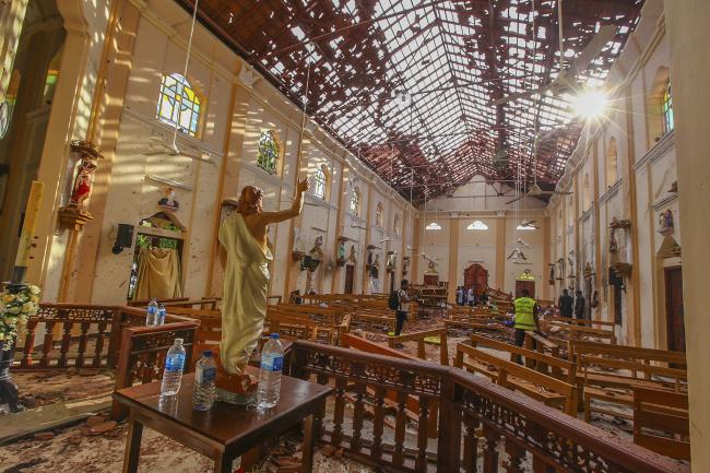 Sri Lanka bomber who studied in UK named   Greenock Telegraph