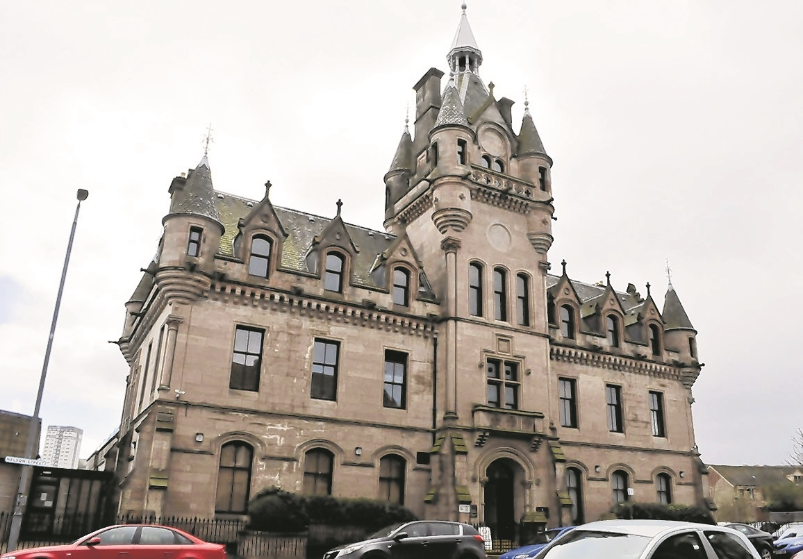 Greenock Sheriff court Building.