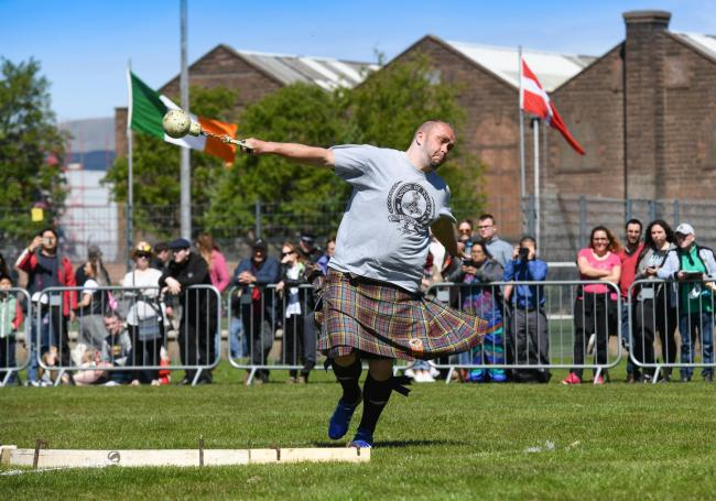 Gourock Highland Games 2019 at the Battery Park, Greenock.