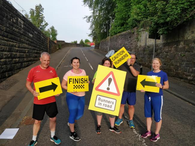 Port Glasgow Runners group promote second annual Port Glasgow 10k race